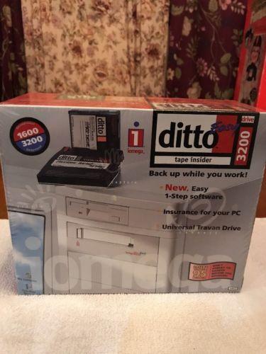 NEW Iomega Ditto 800 Easy tape Insider 3200 SEALED