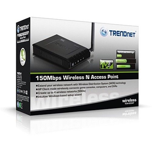 150Mbps Wireless N Access Point - TrendNet - TEW-650AP