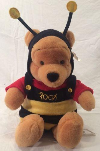 Disney Plush Bumble Bee Pooh