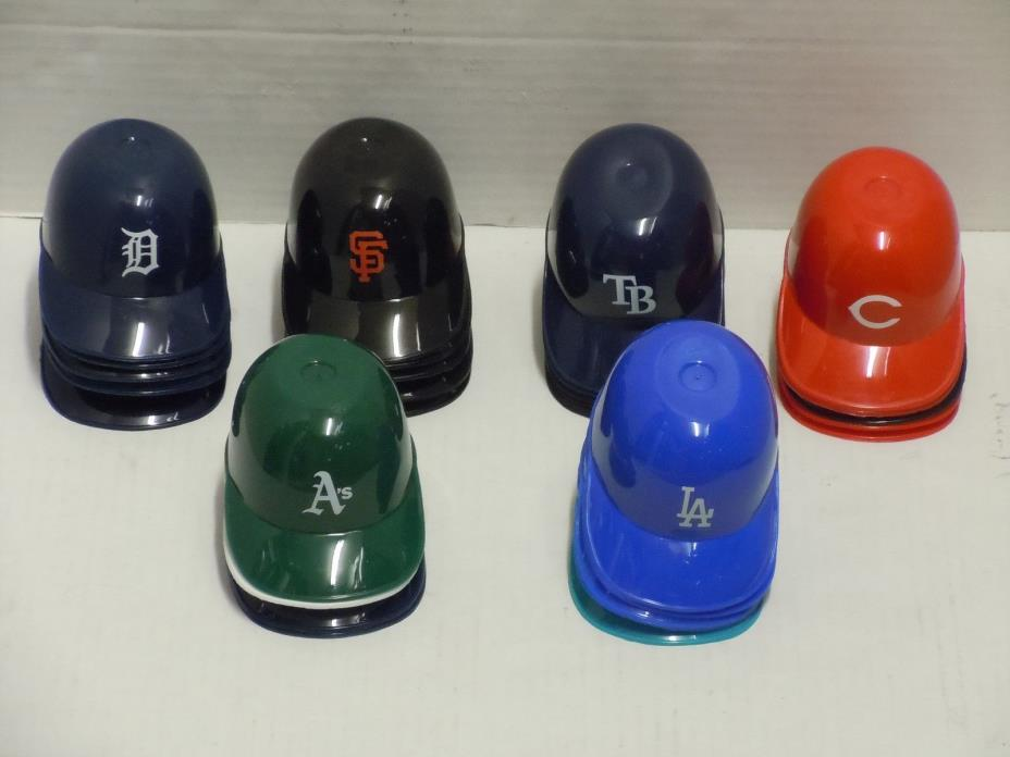 VINTAGE LAICH RAWLINGS MINI MINATURE ICE CREAM BOWL BASEBALL HAT CAP LOT OF (29)