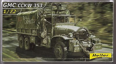 heller 1/72 WWII US ARMY GMC CCKW 353 RED BALL EXPRESS New & Sealed