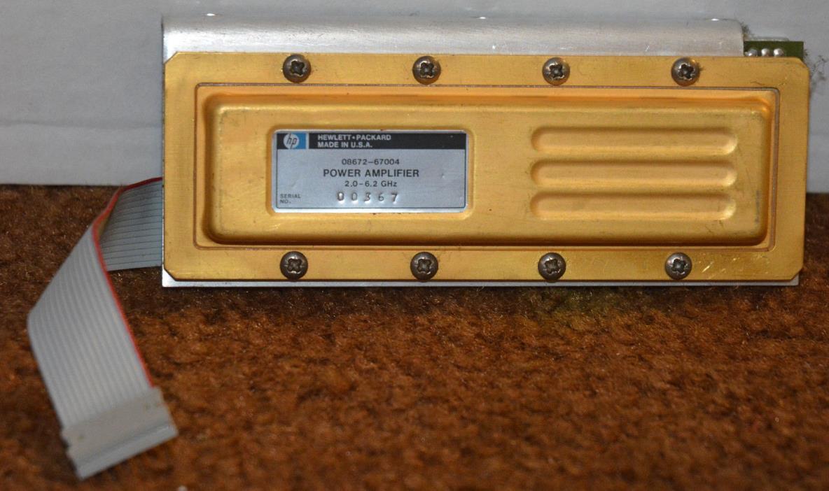 Hewlett Packard 08672-67004 - 2 to 6.2 GHz Pre-Amplifier SMA Female HP