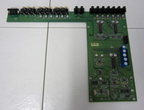 PARASOUND AVC-2500 AUDIO VIDEO CONTROLLER S & COMPONENT VIDEO CIRCUIT BOARD