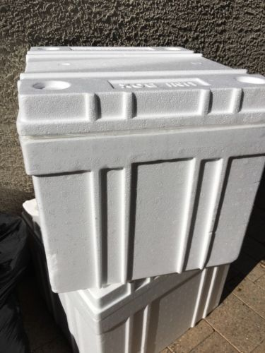 Styrofoam shipping container 18