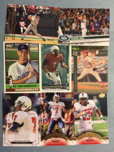 (102) South Alabama Sports Card Lot! Bridge- Pierre- Lieber- Saxton- Everett