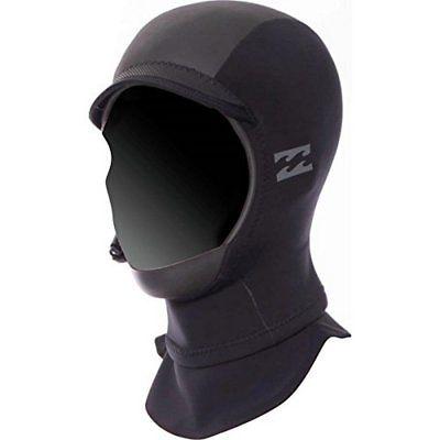 Billabong Unisex Furnace Carbon-X GBS Hood 2mm, Black, M Wetsuit Hood
