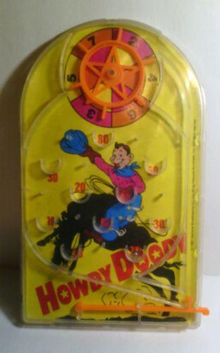 Vintage Howdy Doodys TV Studio Mini Pinball Game  Children Toy