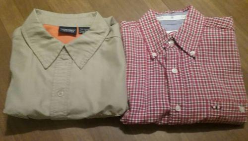 Men's Shirts Size Small and Medium Lot of 2 shirts