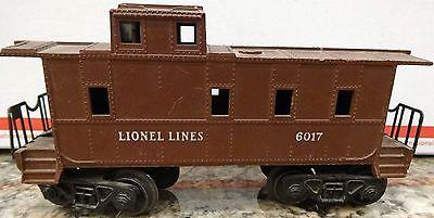 LIONEL LINES 6017 CABOOSE.