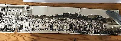 ESTATE BLOWOUT: Panoramic 1927 Arkansas State Teacher's College Photo 20-155