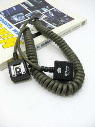 Nikon SC-17 TTL Flash Cord.
