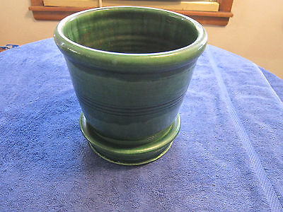 Vintage Rowe Pottery Plant Pot 1992 7 1/2'' Tall 7