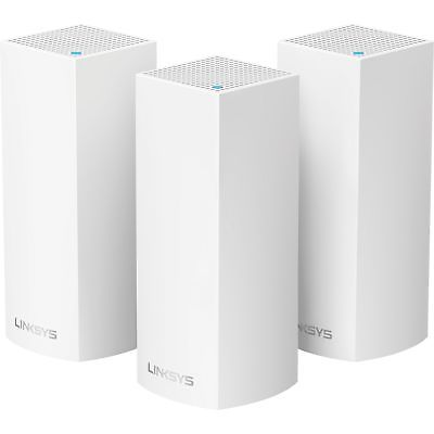 Linksys Wi-Fi System 6 000sq.ft. coverage 4GB Flash 3 Nodes WHW0303