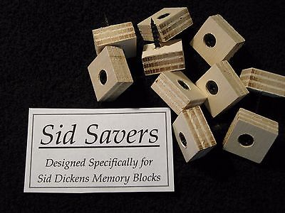 10 SID SAVERS Designed Specifically For Sid Dickens Memory Blocks