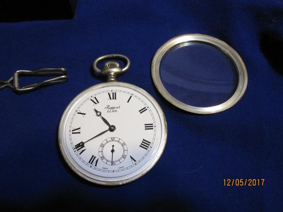 Rapport mechanical pocket watch
