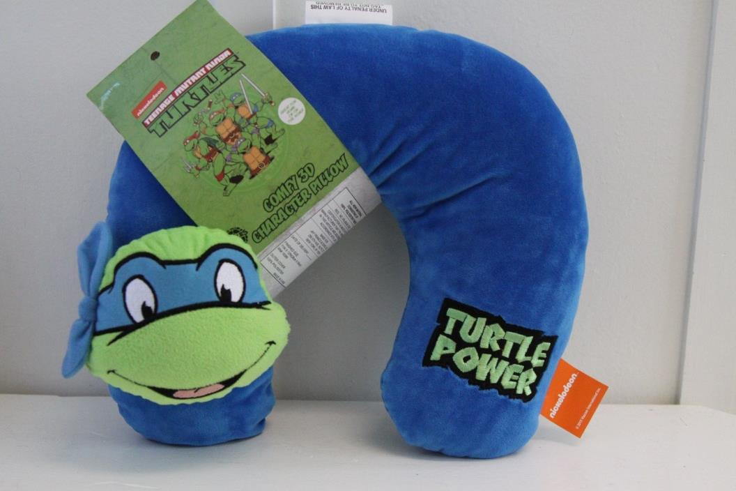 Teenage Mutant Ninja Turtle 3D Character Travel Pillow