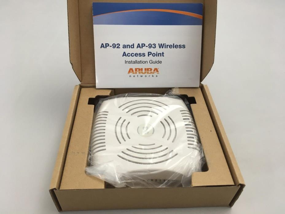AP-93 Aruba Networks Wireless Access Point New Open Box AP-93