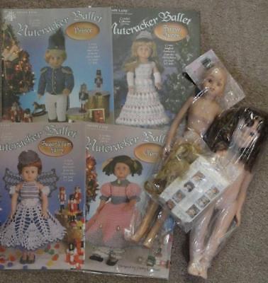 DOLLS&CROCHET PATTERNS- 2 Dolls / Nutcracker  Ballet - 4 Patterns - Shady Lane