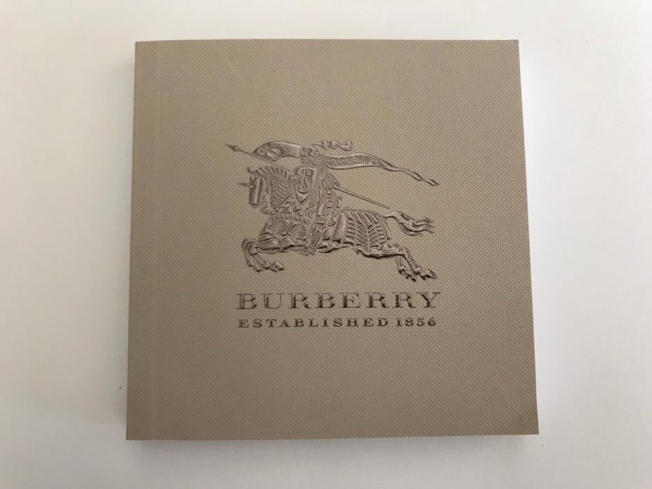 NEW BURBERRY WATCH BOOKLET OPERATING INSTRUCTIONS