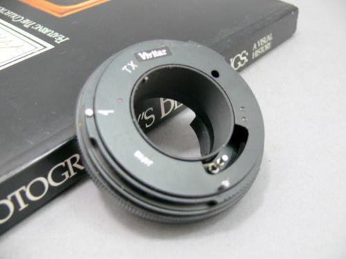 Vivitar TX lens adapter for Konica AR mount.