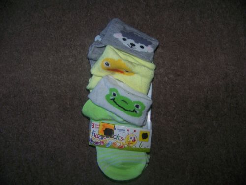 NEW INFANT BABY 6-18 MONTHS FROGGIE FIDDLESTICKS BABY SOCKS NEW