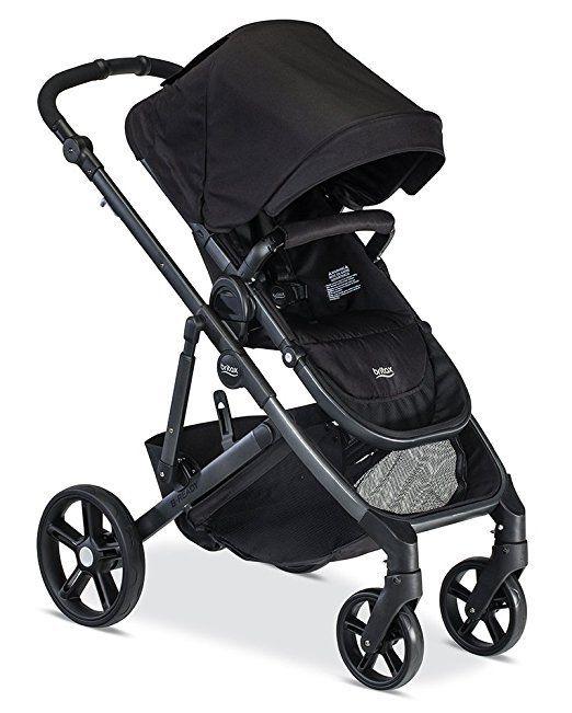 Britax 2017 B-Ready Stroller, Black, Model: U521846