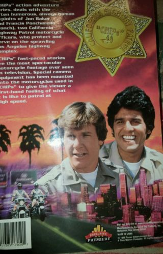 ORIGINAL CHIPS TV STARS CHARACTERS FUN and GREAT..COLLECTIBLE.or Just Enjoy...