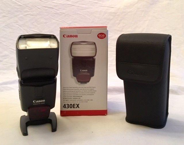 Canon Speedlight 430EX Flash for Canon DSLR Cameras Perfect Condition