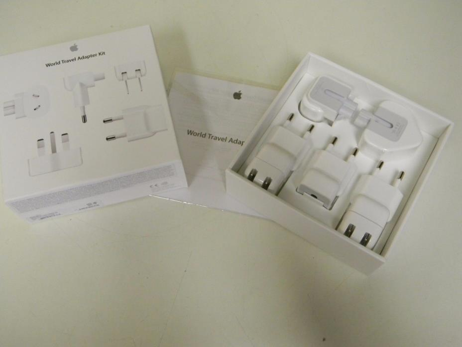 Genuine Apple World Travel Adapter Kit MD8367AAM/a