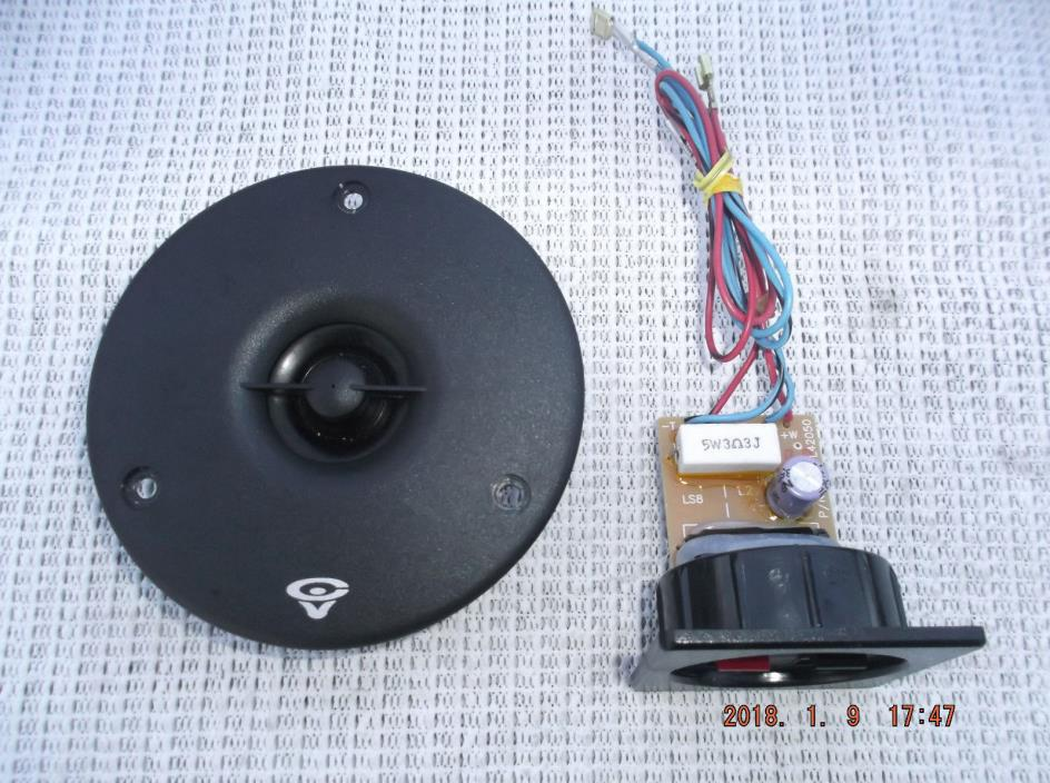 CERWIN VEGA LS-8 TWEETER  &  CROSSOVER  (2 SETS AVAILABLE)
