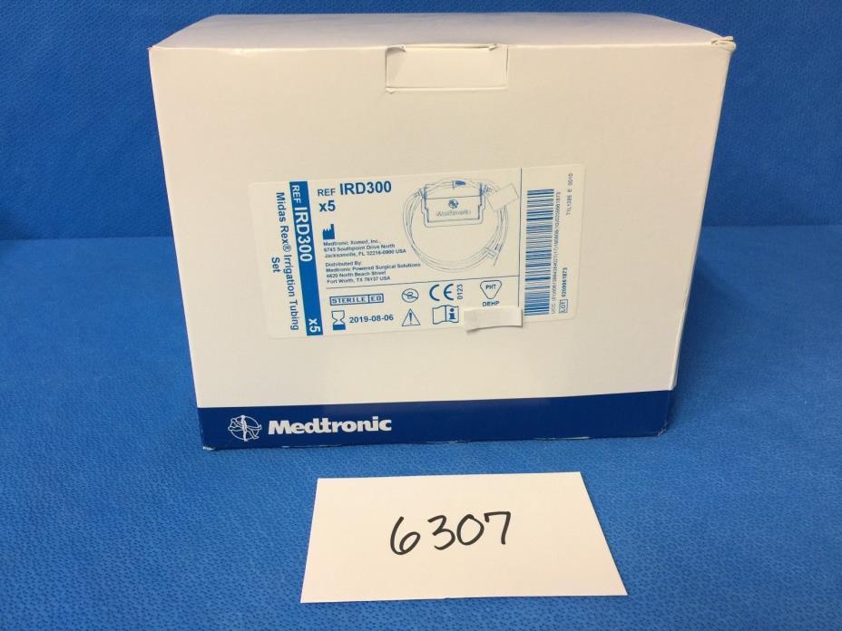 Medtronic IRD300 Midas Rex Irrigation Tubing (Box of 5) (2019-08)