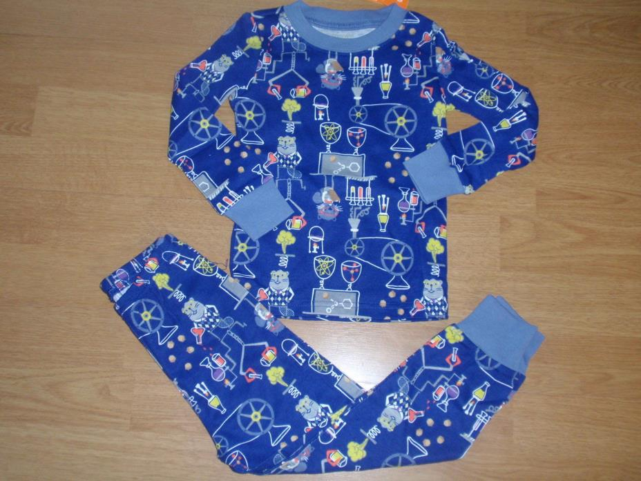 NEW GYMBOREE GYMMIES TODDLER BOY PAJAMAS SET SIZE 3 3T