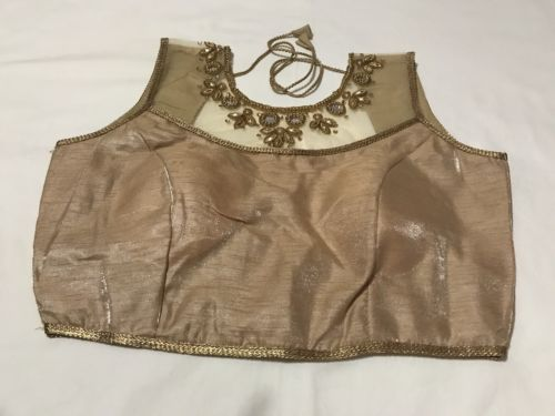 New Readymade Saree Blouse Back Open Size 36