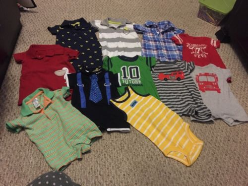 Lot Of Baby Boys Summer Clothes-Size 3 Months