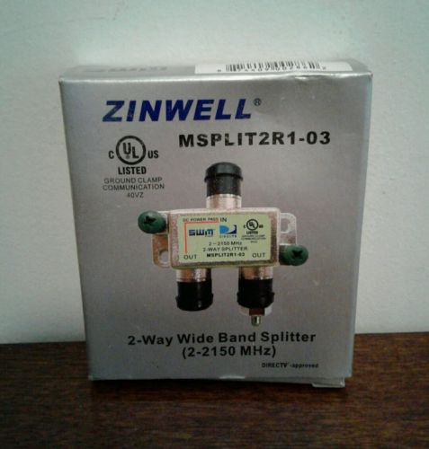 5- ZINWELL MSPLIT2R1-03 2-Way High Frequency SWM Splitter