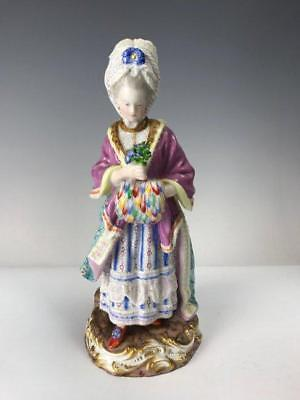 19th C. Incredible Meissem Porcelain Figure.