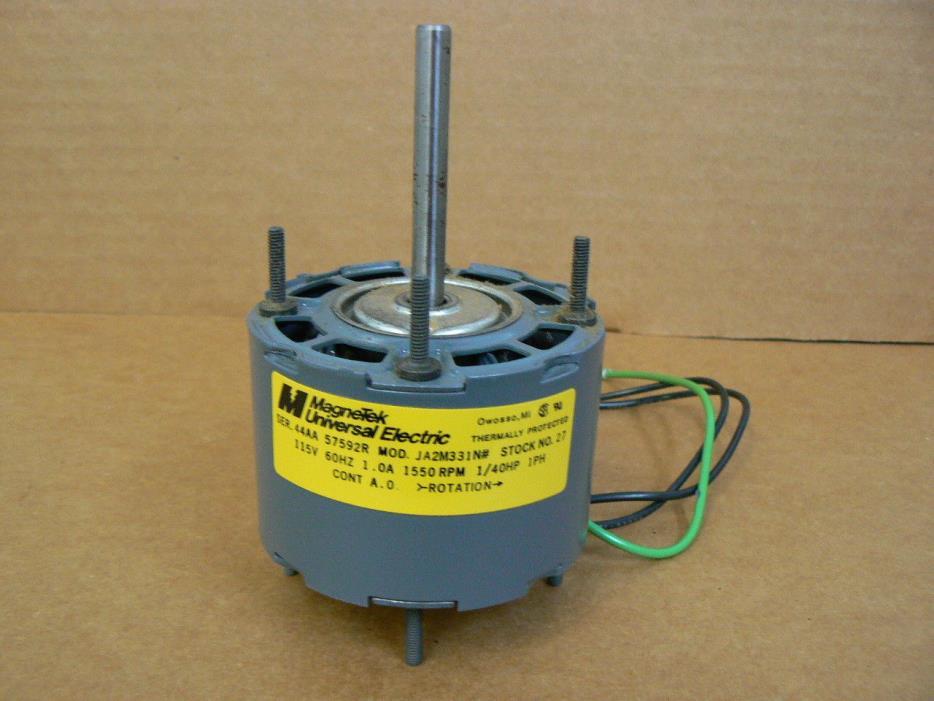 New Magnetek 1/40 HP Blower Motor - Stock # 27 | Model # JA2M331N#