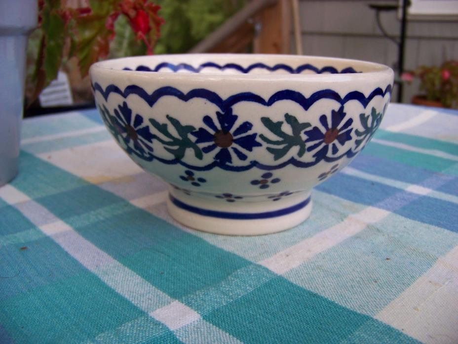 Polish  Boleslawiec Pottery Cereal/Small Bowl