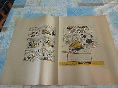 Ski-Doo Snowmobile BOOK COVER ***VINTAGE****ORIGINAL