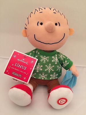 Hallmark Peanuts Christmas Musical Plush Linus