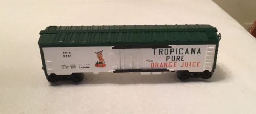 Lionel Tropicana Pure Orange Juice Boxcar Road #9861