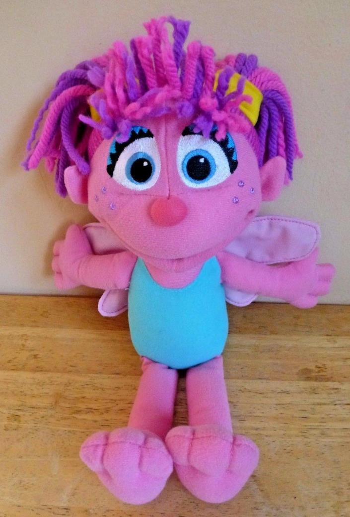 Sesame Street Hasbro Abby Cadabby Plush Toy Doll 12