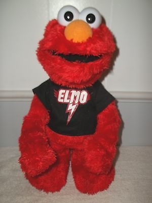 Sesame Street Lets Rock Elmo Musical Animated Doll