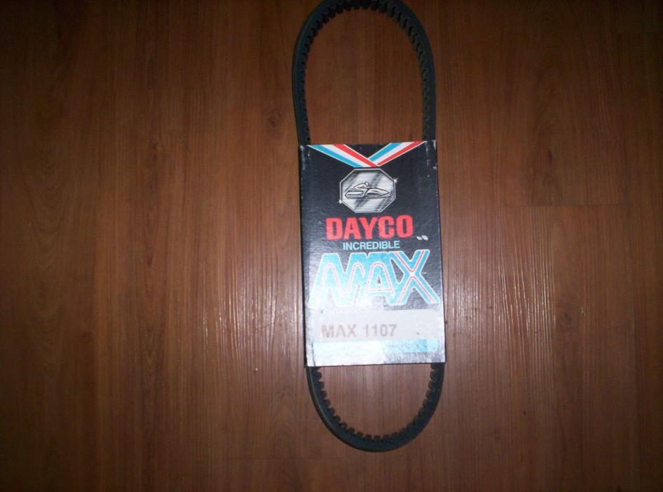 Vintage Dayco 1107 Snowmobile Drive Belt