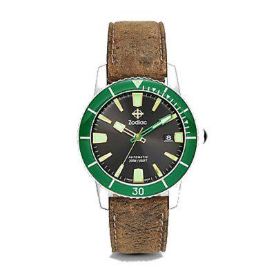 "Zodiac ZO9252 ""SUPER SEA WOLF 53 COMPRESSION"" Automatic Sapphire Crystal Watch"