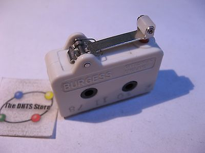 Limit Lever Micro-Switch Sensor Burgess V13HLR SPDT 10A 250VAC - Used Qty 1