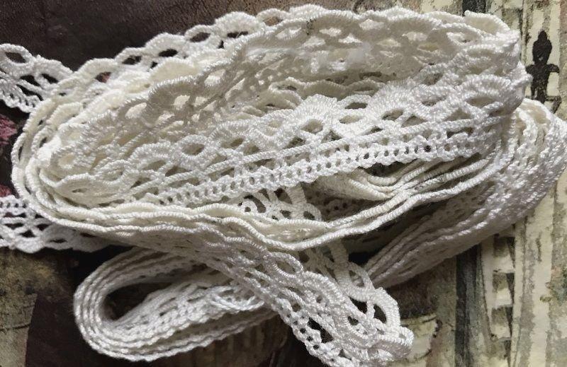 Old Vintage Bobbin Lace, Trim, Edging, Insert 128