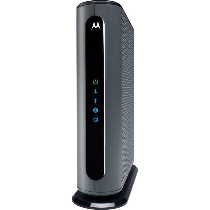 Motorola Ultra Fast DOCSIS 3.1 Cable Modem, Model MB8600, Plus 32x8 DOCSIS 3.0,