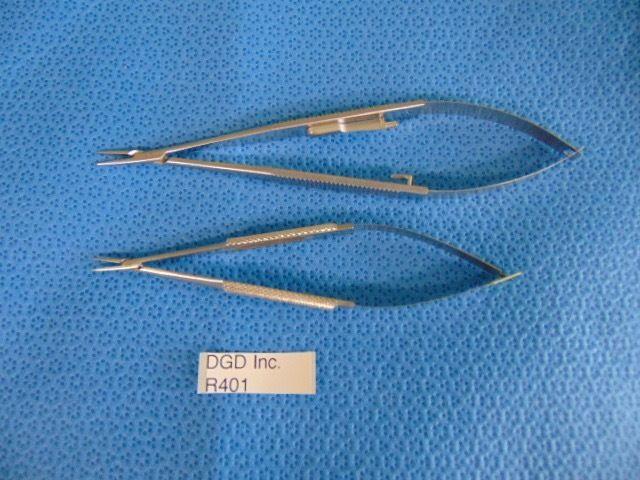 Set Of 2 Aesculap FD230R, BM563R Straight Tweezers ~ R401