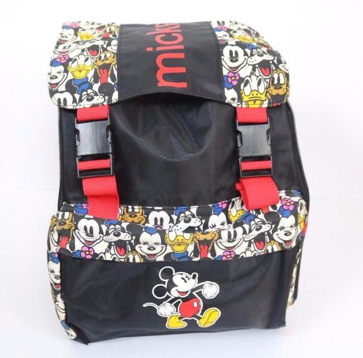 Disney Mickey & Co Backpack Mickey Minnie Mouse Goofy Donald Pluto Bag